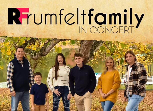 The Rumfelt Family • Concert Poster